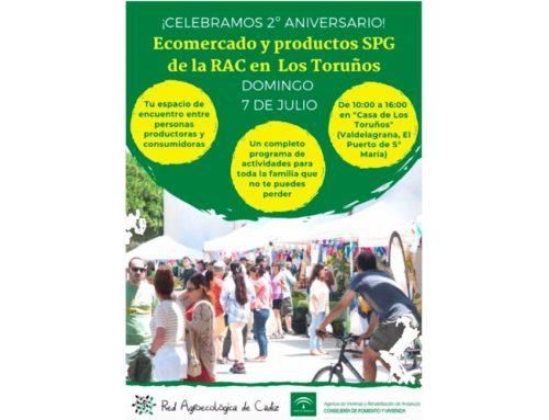 2° Aniversario Ecomercado de la RAC en Los Toruños