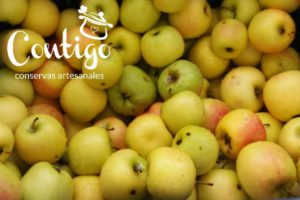 Compota ecológica de manzana